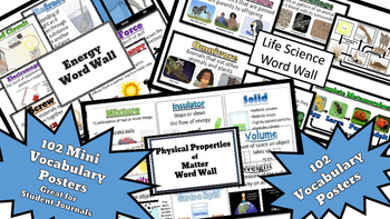Big Bundle of Vocabulary Words for Physical Properties, En