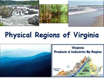 VA Studies: Physical Regions Lesson - classroom unit, stud