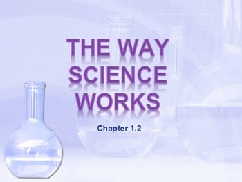 Physical Science: 1.2 The Way Science Works and Metrics