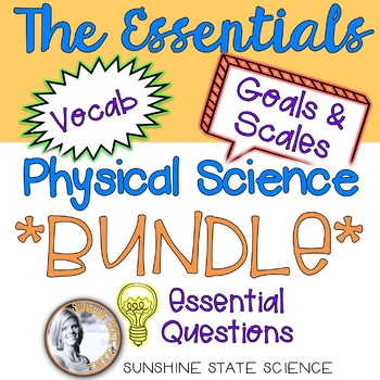 Physical Science BUNDLE All-in-One Bulletin Boards