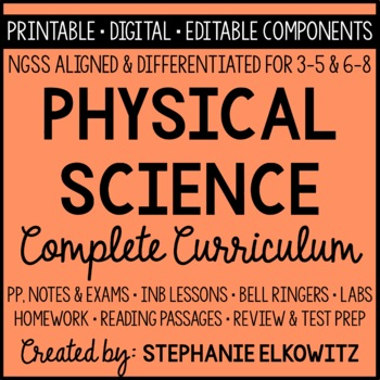 Physical Science Curriculum (NGSS Aligned)