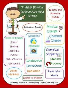 Physical Science Activities Bundle