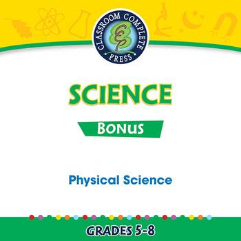 Physical Science Gr. 5-8 - BONUS WORKSHEETS