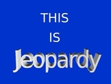 Physical Science Jeopardy (chemical reactions, acids/bases, etc.)