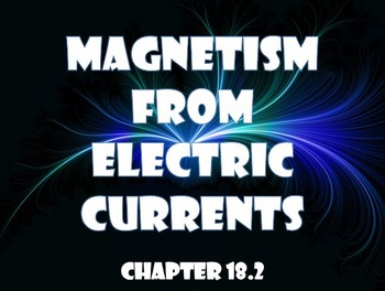 Physical Science: 18.2 Magnetism from Electric Currents