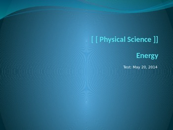 Physical Science Review PPT