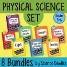 Physical Science Doodles SET of 8 BUNDLES at 25% OFF! *BEST SELLER*