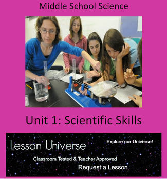 Unit 1: Physical Science Scientific Skills Unit