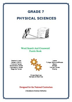 Physical Sciences - 60 Pages - Wordsearch and Crossword Pu
