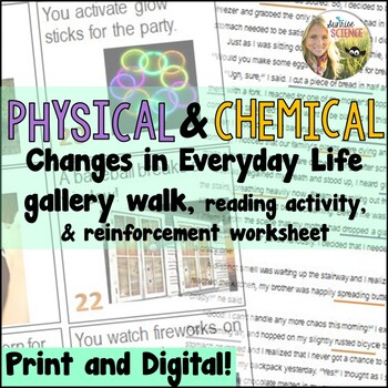 Identifying Physical and Chemical Changes Lesson
