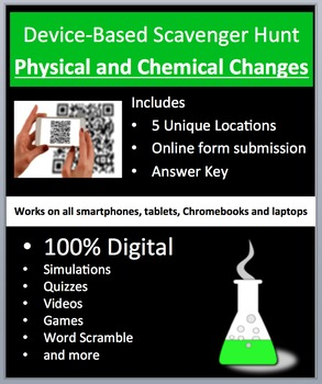 Physical and Chemical Changes – Device-Based Scavenger Hun