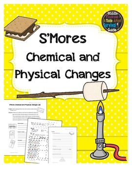 Physical and Chemical Changes Lab - S'Mores Lab