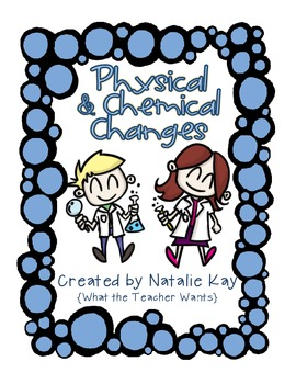 Physical and Chemical Changes Resource Pack - Matter Unit