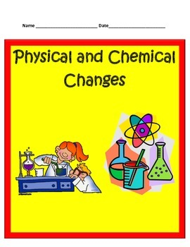Physical and Chemical Changes STUDY GUIDE - 5th Science