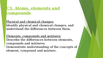 Physical and Chemical Properties and Changes