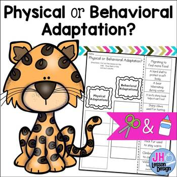 Physical and Behavioral Adaptations Cut and Paste Sorting