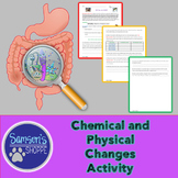 Physical Chemical Changes Hands On Activity