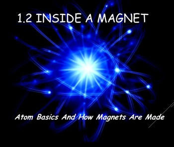 Physics 1.2 Atom Basics and Inside a Magnet Powerpoint and