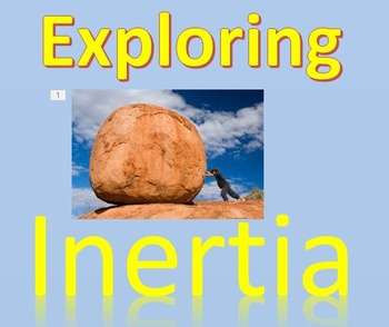 Physics - A visual Intro to Inertia with PowerPoint Experi