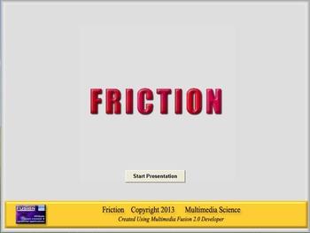 Physics - Friction Software and Handouts Bundle - PC & MAC