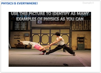 Physics Is Everywhere! Karate Example