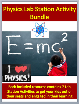 Physical Science Lab Station Activity Bundle - Engaging, H