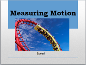 Physics Learning Station: Matter in Motion- Speed