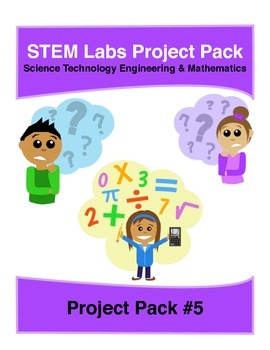 Physics Science Experiment STEM projects pack 5 with 10 mo