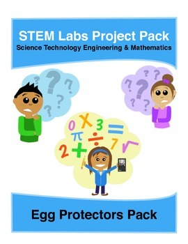 Physics Science Experiments STEM PACK - 5 protecting eggs labs