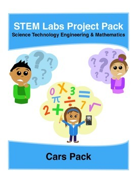 Physics Science Experiments STEM PACK - 9 cars projects labs