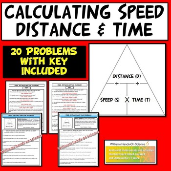 Physics Speed, Time and Distance Problems
