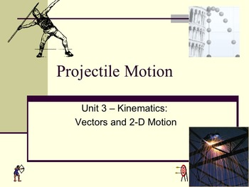 Physics - Unit 3 - Kinematics: Vectors and Two-dimensional