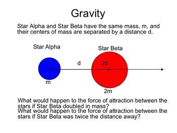 Physics - Universal Gravitation Math (Complete Lesson)