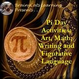 Pi Day 2017:  No-Prep Art, Math, Figurative Language and W