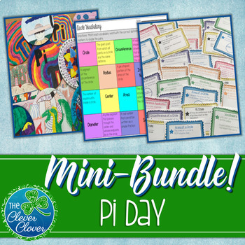 Circumference and Area of Circles Bundle - Pi Day Activities