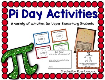 Pi Day Activities for Upper Elementary Students