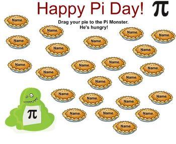 Pi Day Attendance SmartNotebook File