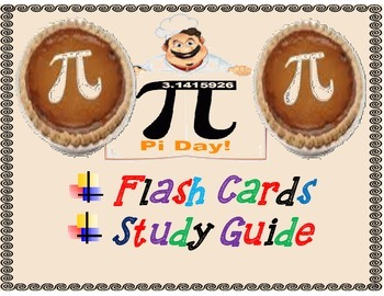 Pi Day Flash Cards