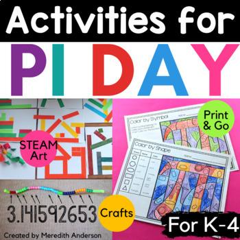 Pi Day Fun - Circle Math and Art Activities