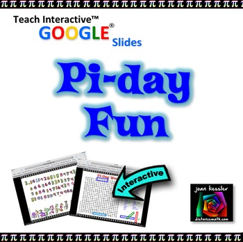 Pi Day Fun with GOOGLE Slides