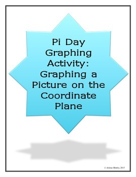 Pi Day Graphing Activity: Graphing a picture on the Coordi