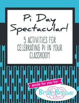 Pi Day Spectacular! Activities Diameter, Circumference, Ra