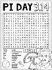 Pi Day Word Search Activity