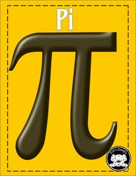 Pi Pie Symbols