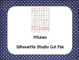 Pi Day 'PiTunes' {Silhouette Cut File}