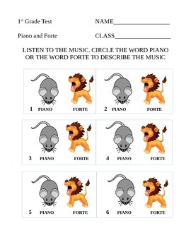 Piano-Forte Assessment