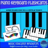 Piano Keyboard Flashcards