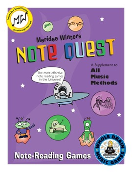 Piano Note Reading Game Activity: Notequest