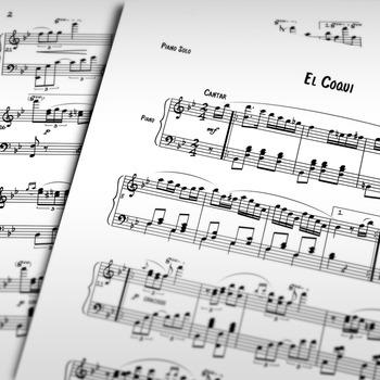 Piano Sheet Music: El Coqui (Puerto Rican Danza)