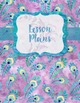 Piano Teacher Binder Inserts: Purple Peacock {EDITABLE}